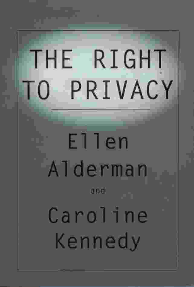 Image for THE RIGHT TO PRIVACY