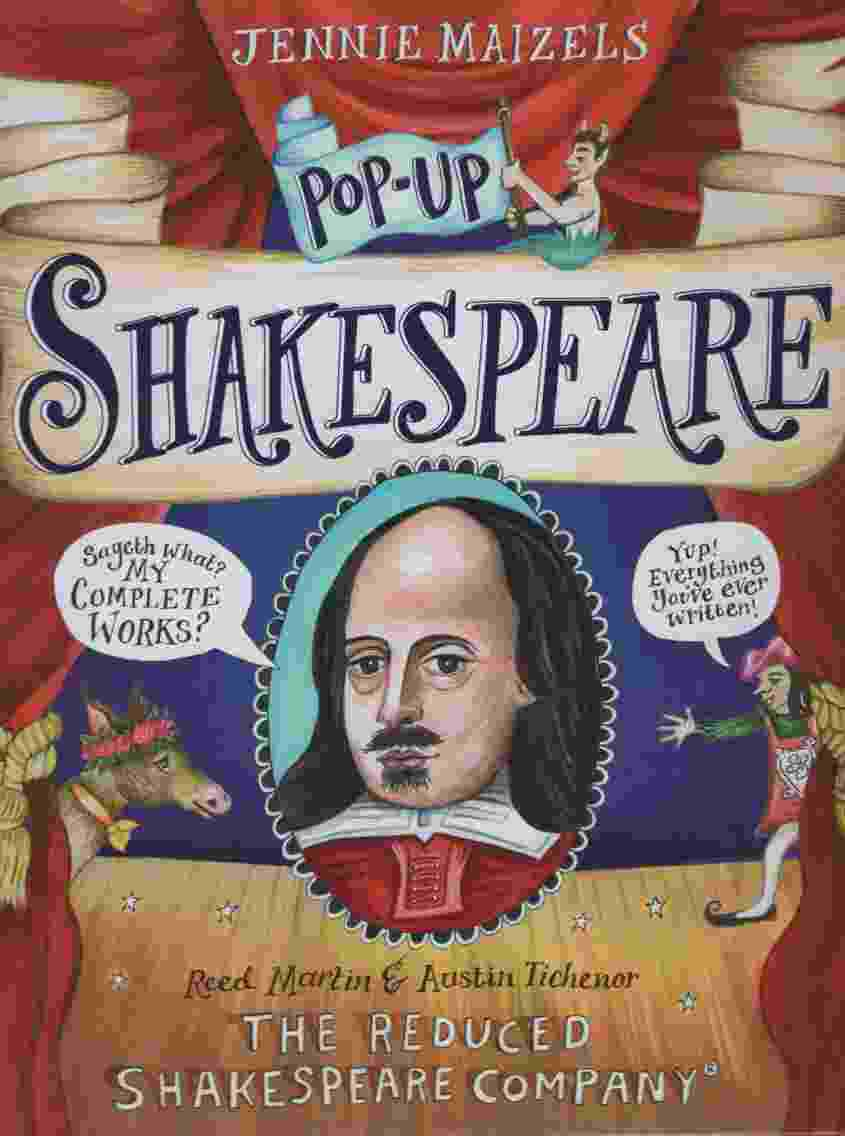 POP-UP SHAKESPEARE  Every play and poem in pop-up 3-D