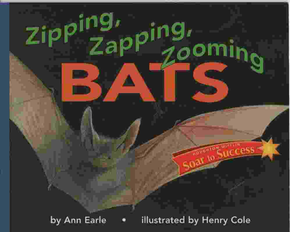 Image for ZIPPING, ZAPPING, ZOOMING BATS