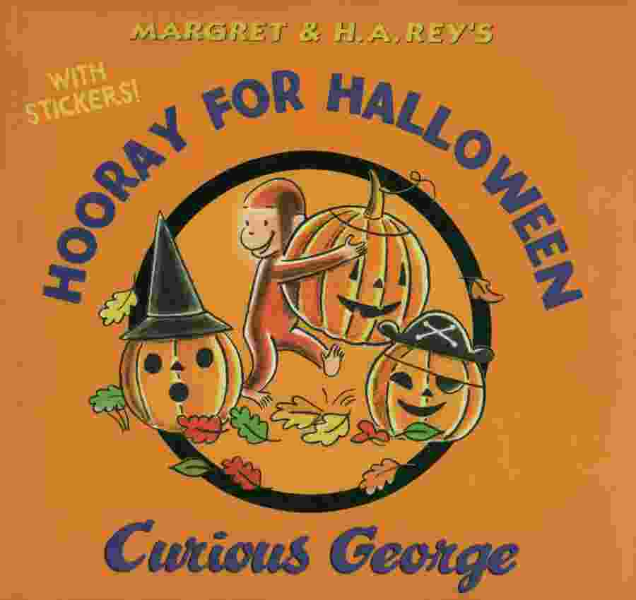 image for hooray for halloween curious george