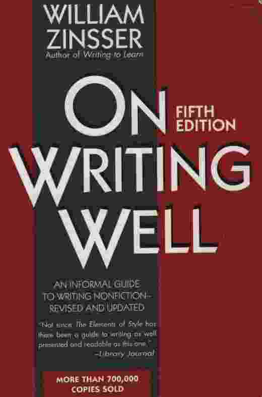 Image for ON WRITING WELL, 5TH EDITION  An Informal Guide to Writing Nonfiction