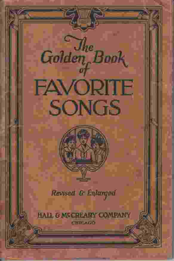 Image for THE GOLDEN BOOK OF FAVORITE SONGS