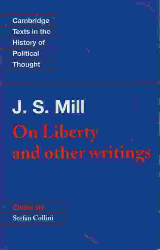 Image for ON LIBERTY AND OTHER WRITINGS