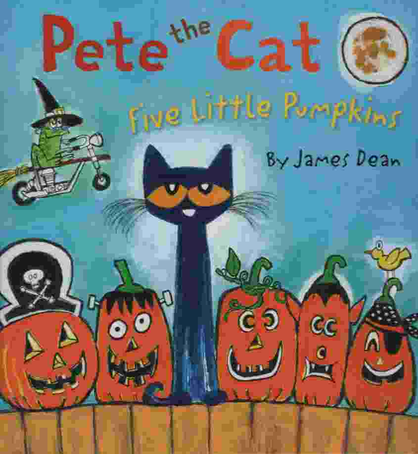 Image for PETE THE CAT: FIVE LITTLE PUMPKINS