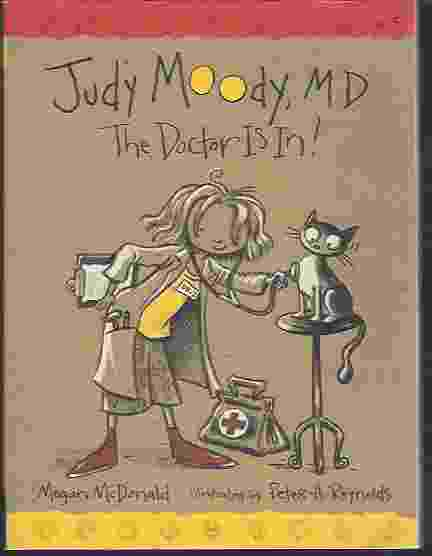 Image for JUDY MOODY, M D: THE DOCTOR IS IN!