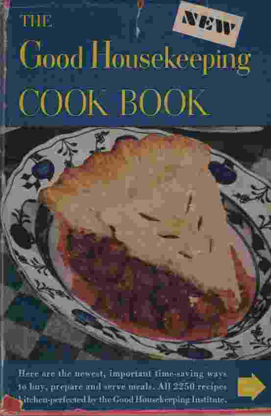 Image for THE GOOD HOUSEKEEPING COOK BOOK