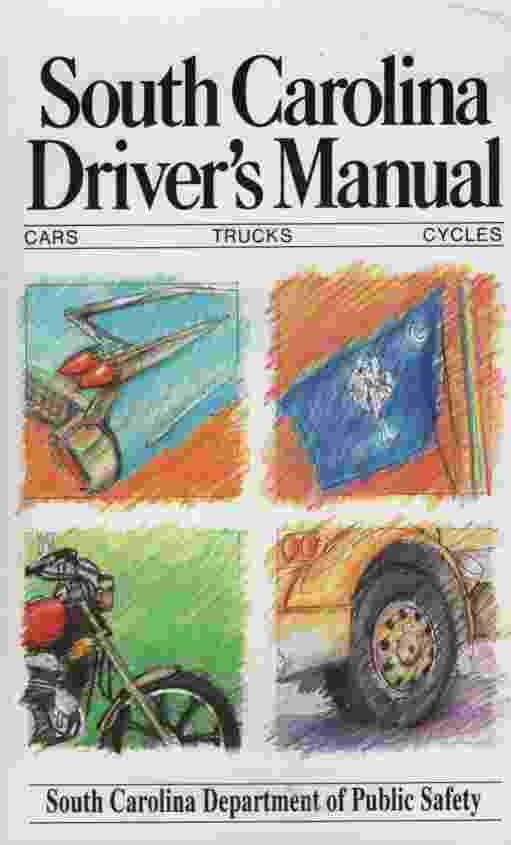 Image for SOUTH CAROLINA DRIVER' S MANUAL, 1993