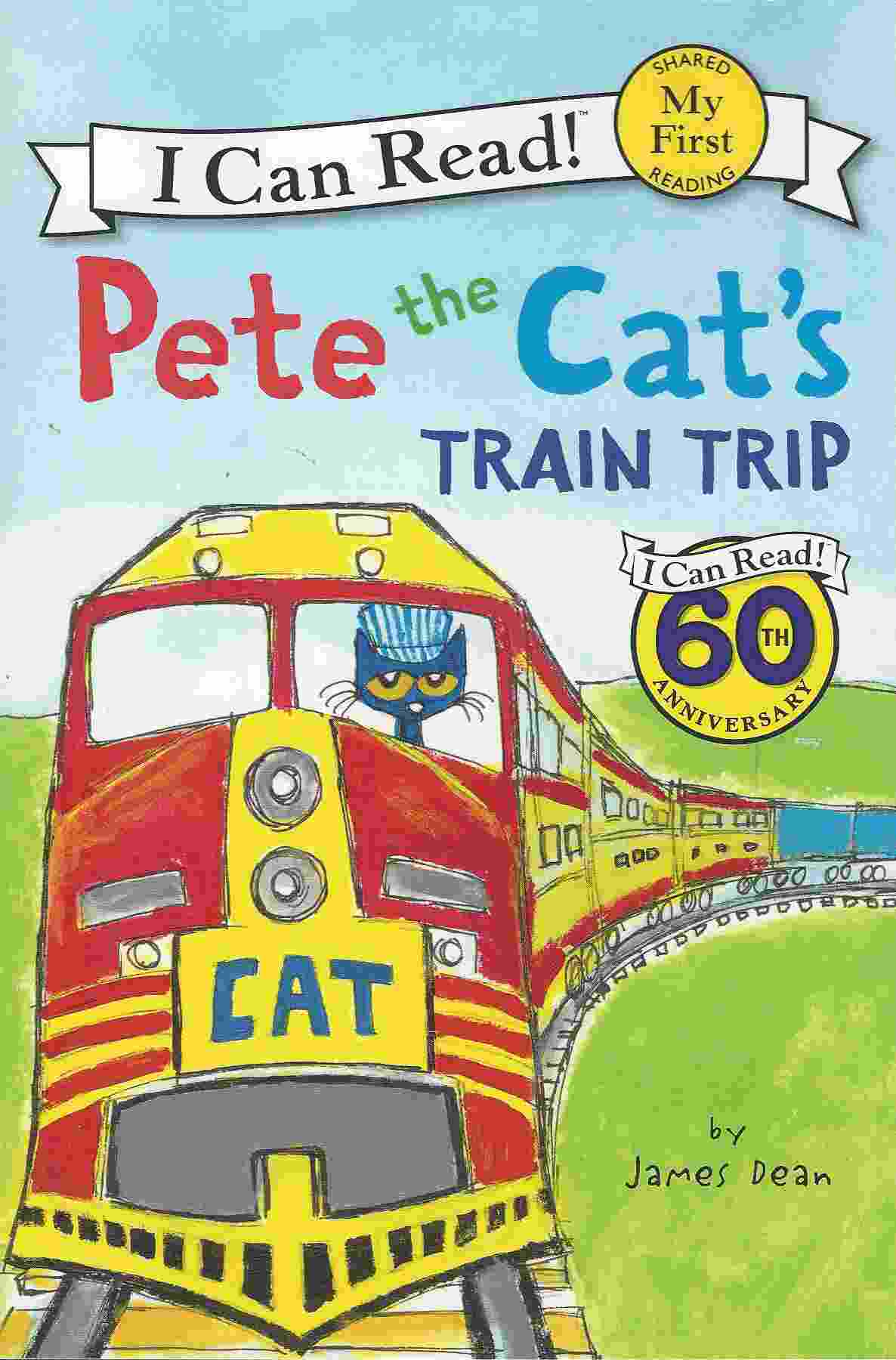 Image for PETE THE CAT'S TRAIN TRIP