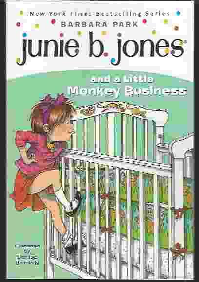 JUNIE B JONES AND A LITTLE MONKEY BUSINESS