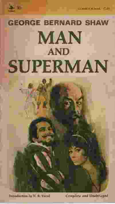 Image for MAN AND SUPERMAN