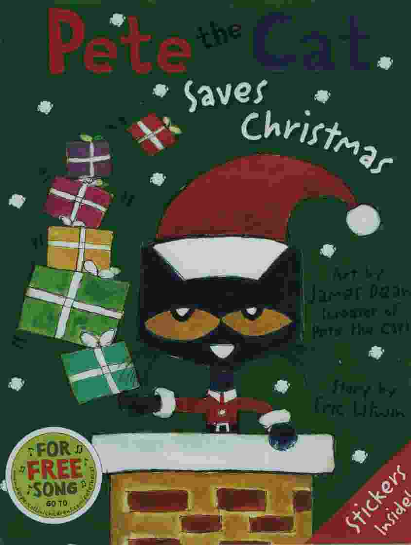 Pete The Cat Saves Christmas.Pete The Cat Saves Christmas