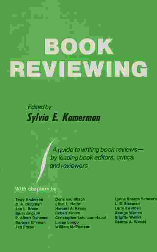 Image for BOOK REVIEWING