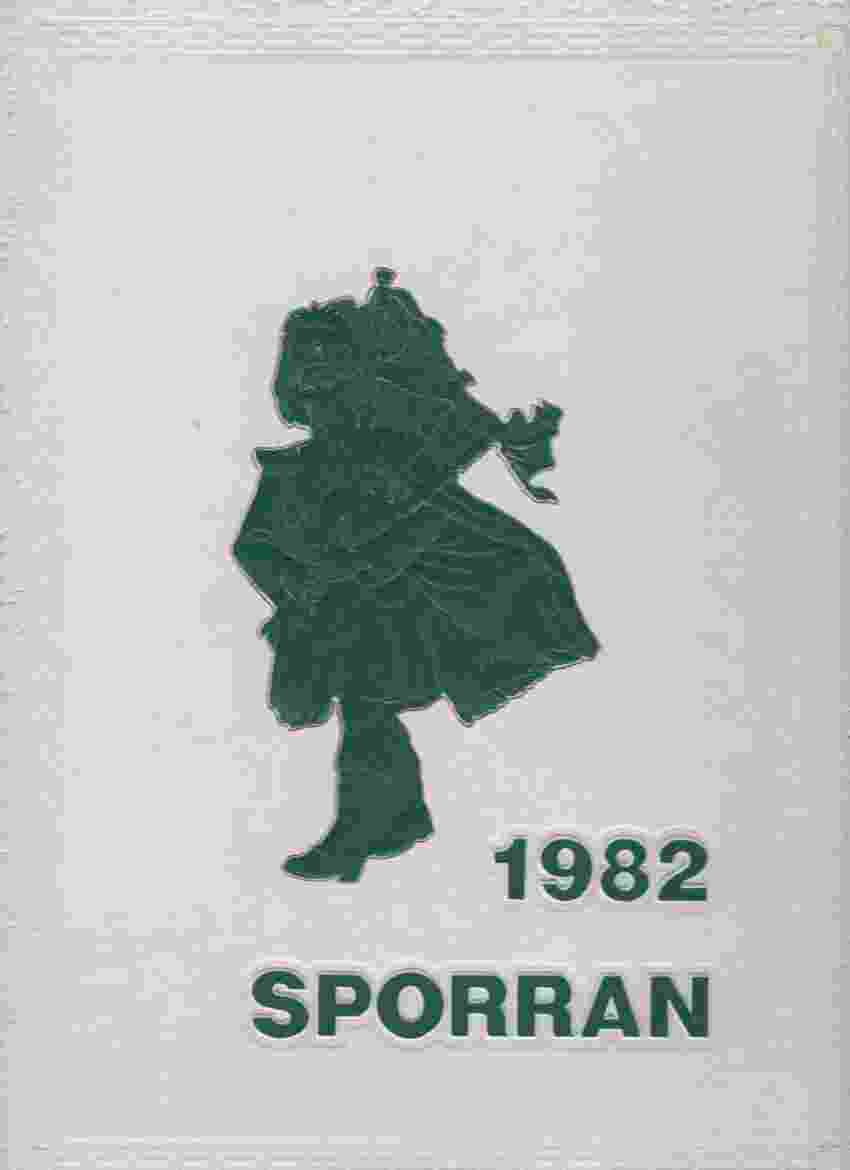 Image for 1982 SPORRAN, MCDUFFIE HIGH SCHOOL, ANDERSON, SOUTH CAROLINA