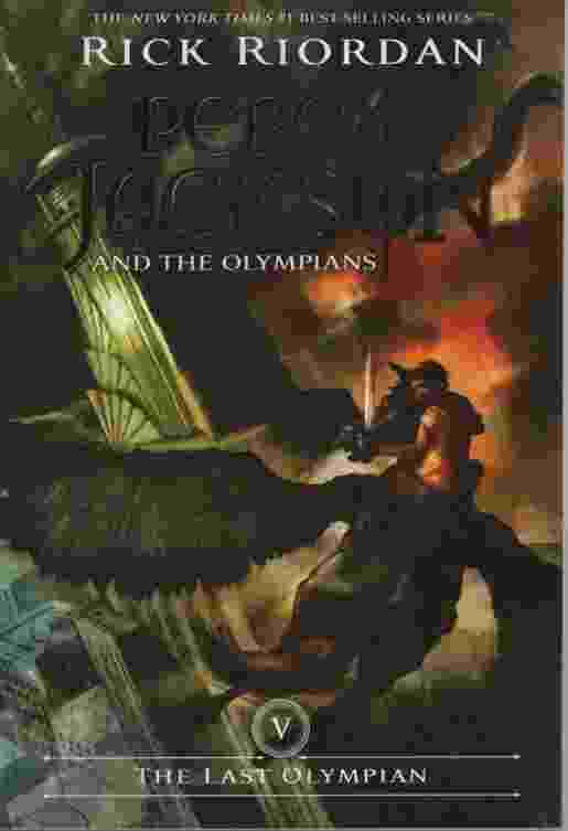 Image for THE LAST OLYMPIAN