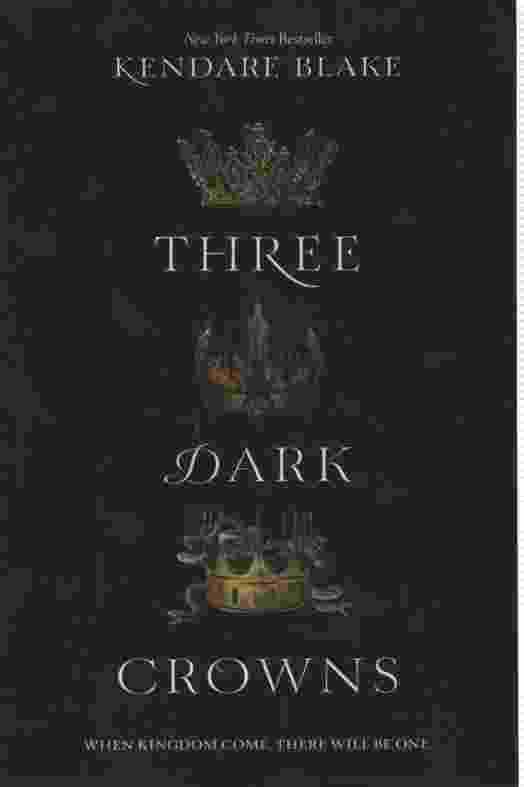 Image for THREE DARK CROWNS