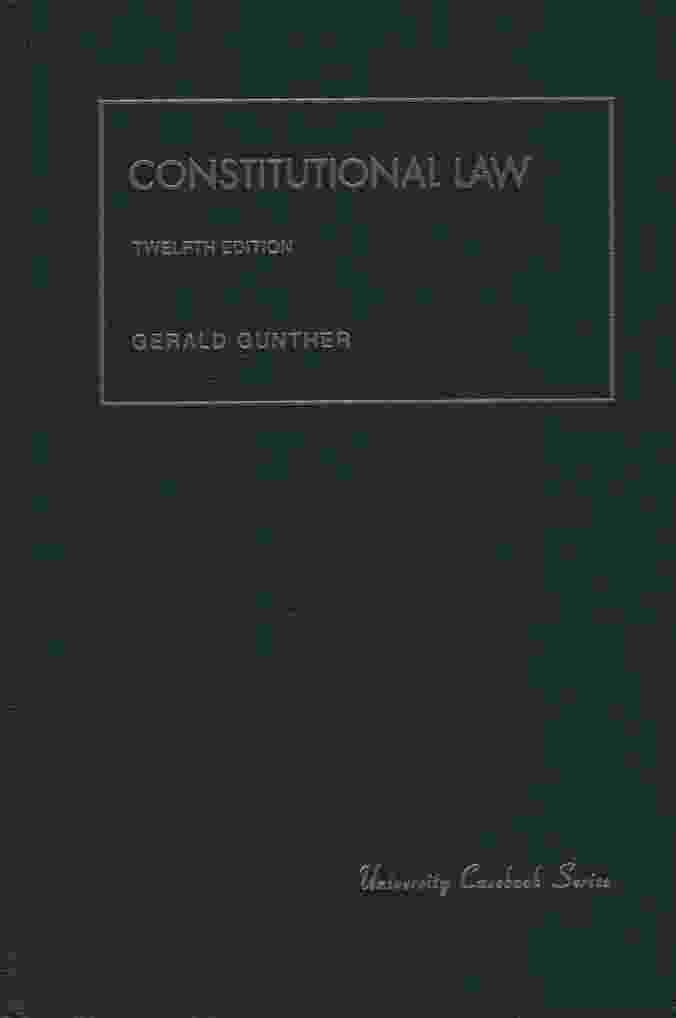 Image for CONSTITUTIONAL LAW, 12TH EDITION