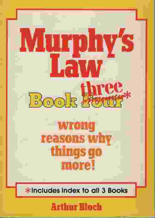 Image for MURPHY'S LAW BOOK THREE