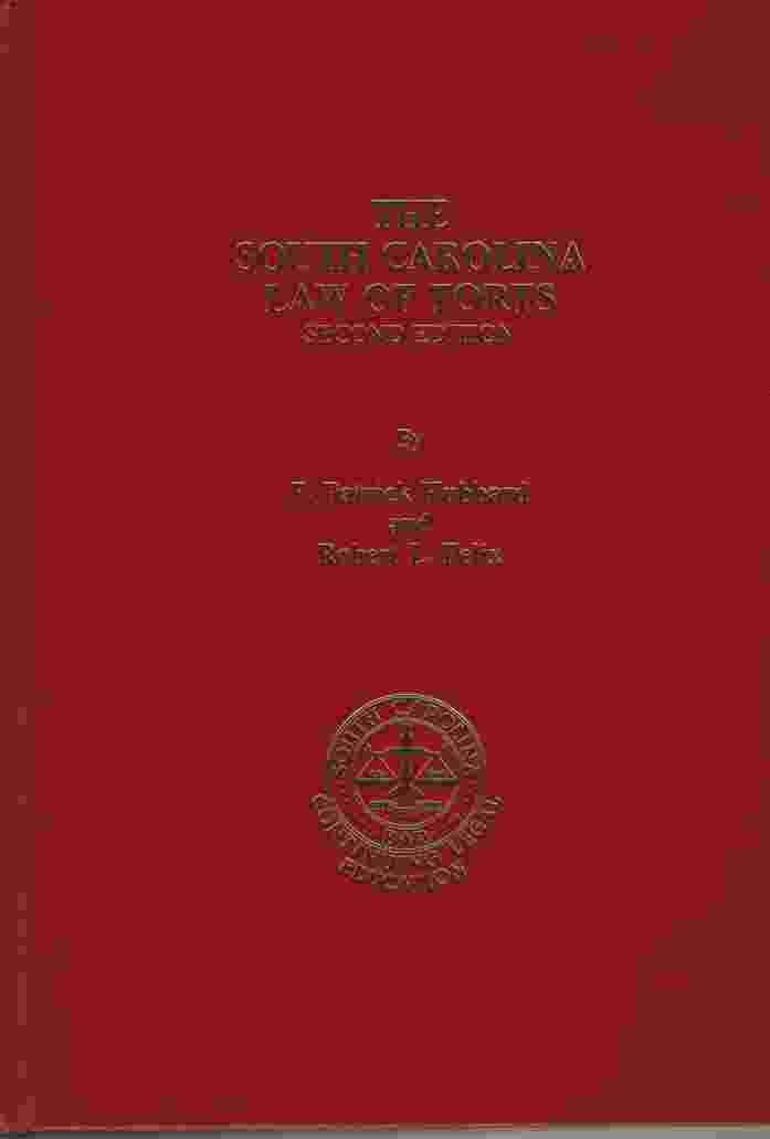Image for THE SOUTH CAROLINA LAW OF TORTS, 2ND EDITION
