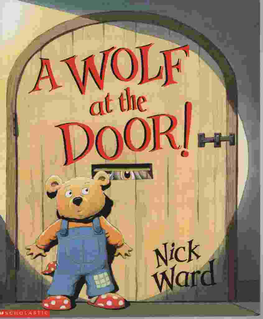 Image for A WOLF AT THE DOOR!