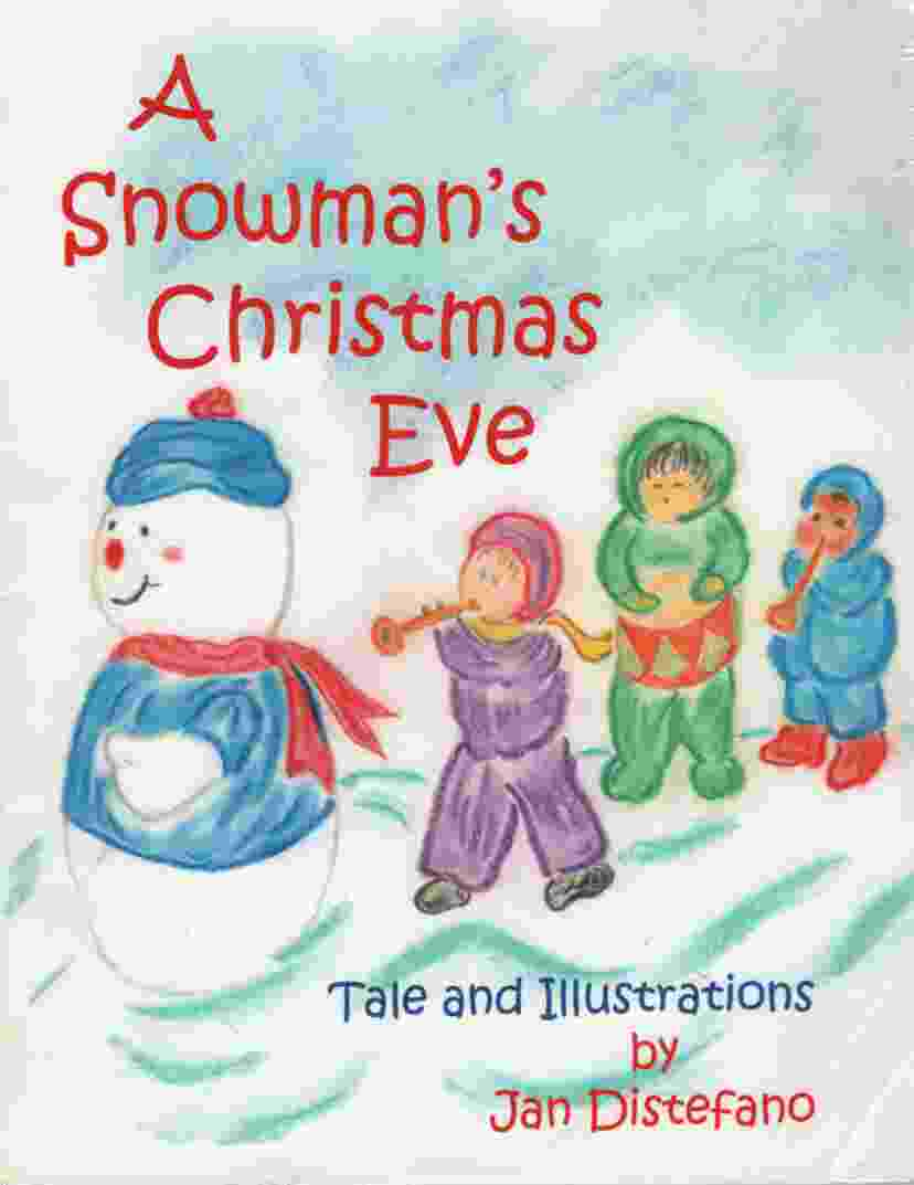 Image for A SNOWMAN'S CHRISTMAS EVE