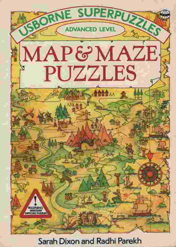 Image for MAP & MAZE PUZZLES Advanced Level