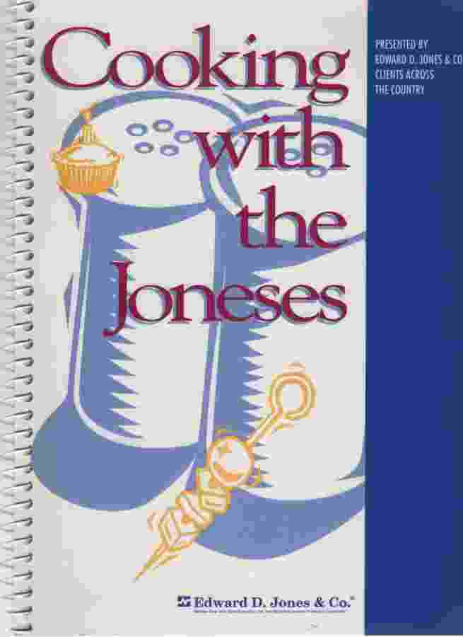 Image for COOKING WITH THE JONES