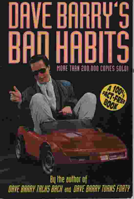 Image for DAVE BARRY'S BAD HABITS