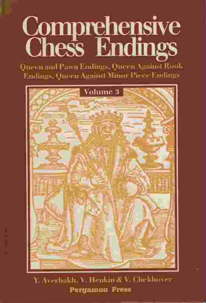 Image for COMPREHENSIVE CHESS ENDINGS, VOLUME 3