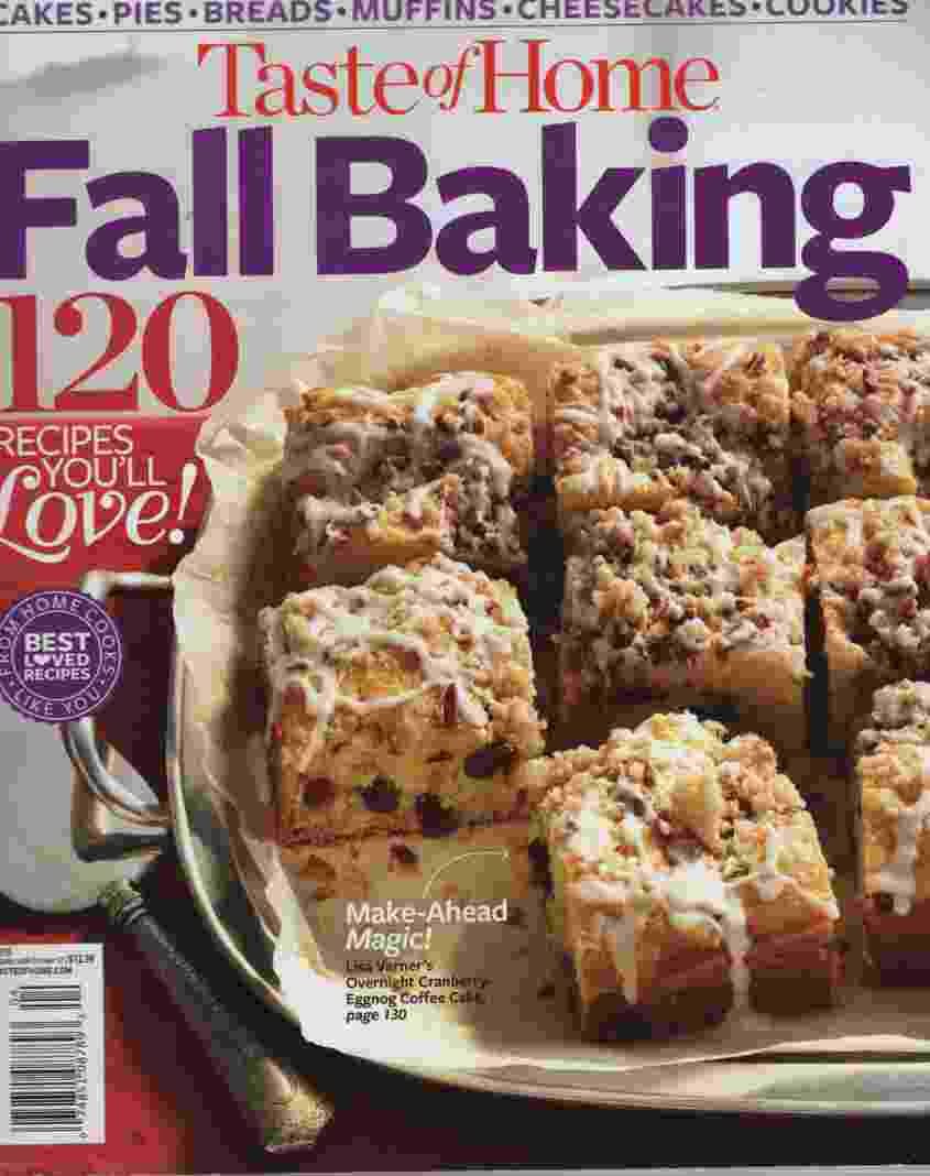 Image for TASTE OF HOME FALL BAKING