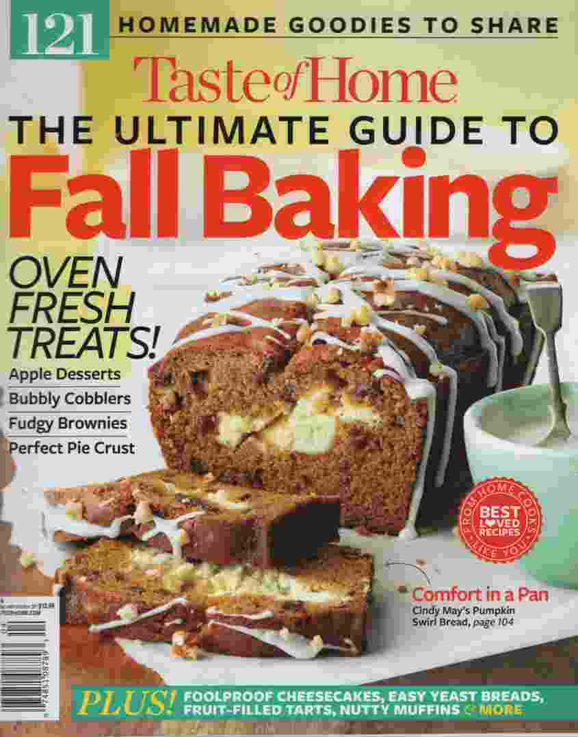 Image for TASTE OF HOME THE ULTIMATE GUIDE TO FALL BAKING