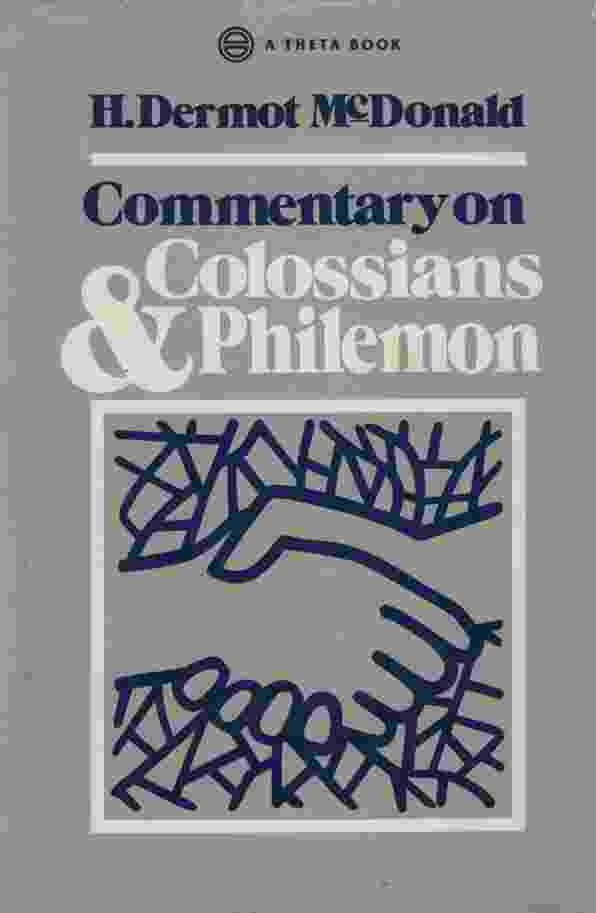 Image for COMMENTARY ON COLOSSIANS & PHILEMON