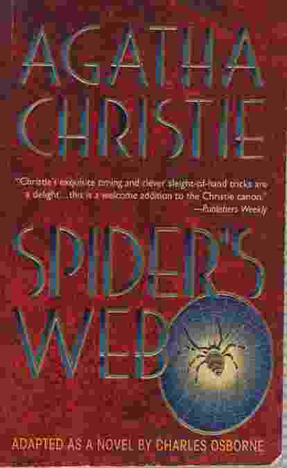 Image for SPIDER'S WEB Adapted As a Novel by Charles Osborne