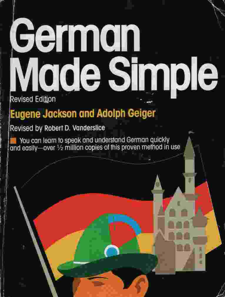 Image for GERMAN MADE SIMPLE, REVISED EDITION