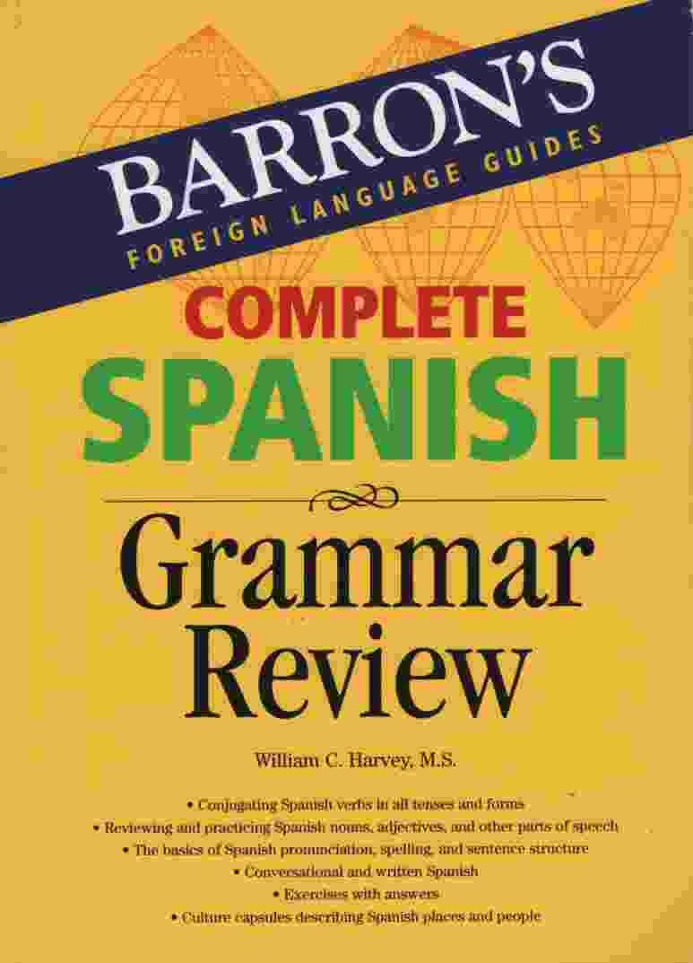 Image for COMPLETE SPANISH GRAMMAR REVIEW