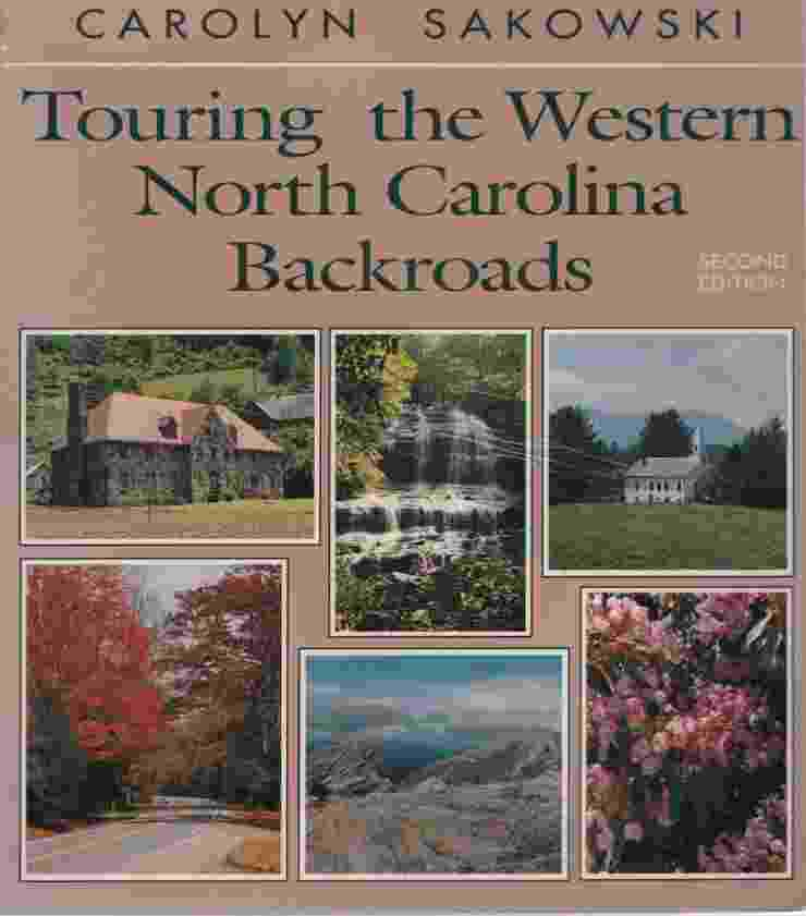 Image for TOURING THE WESTERN NORTH CAROLINA BACKROADS