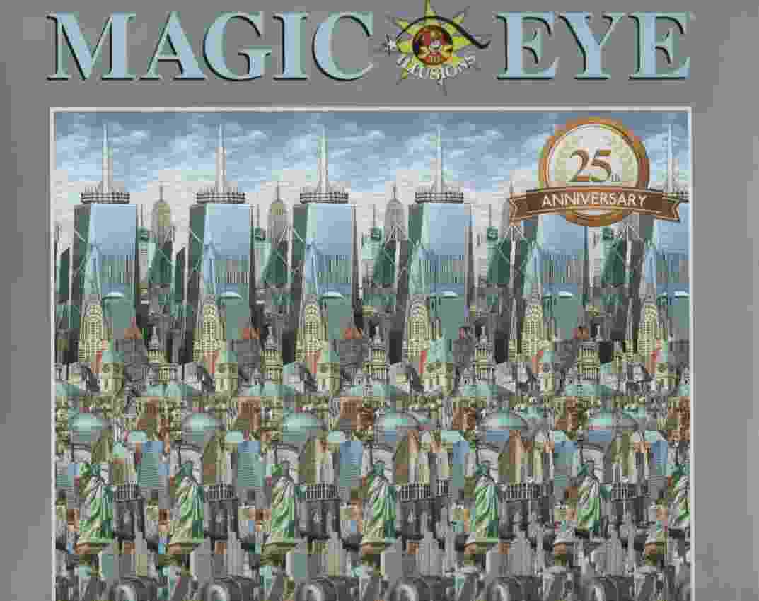 Image for MAGIC EYE, 25TH ANNIVERSARY EDITION