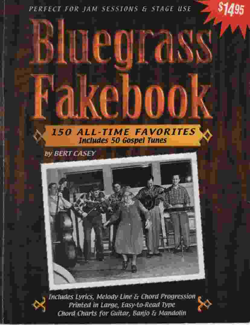 Image for BLUEGRASS FAKEBOOK