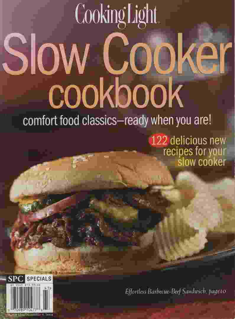 Image for SLOW COOKER COOKBOOK