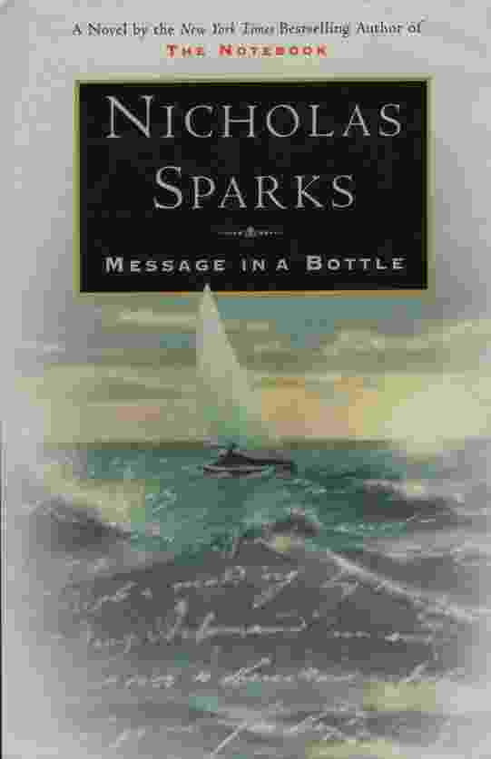 Image for MESSAGE IN A BOTTLE [LARGE PRINT]