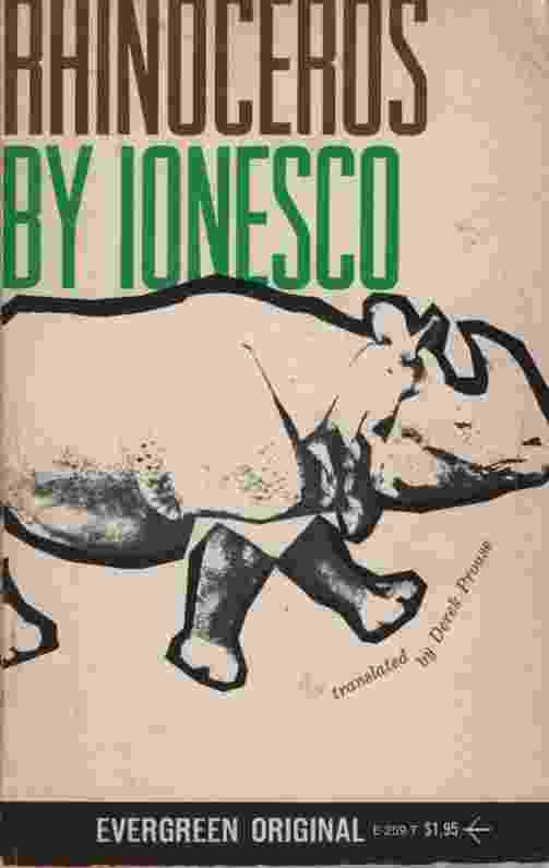 Image for RHINOCEROS AND OTHER PLAYS