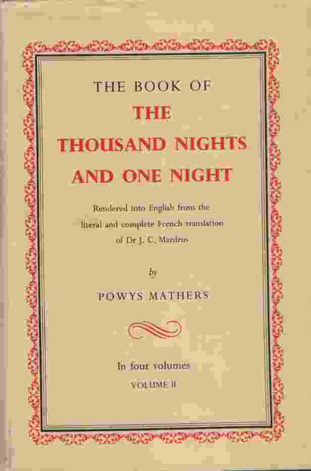 Image for THE BOOK OF THE THOUSAND NIGHTS AND ONE NIGHT, VOL 2