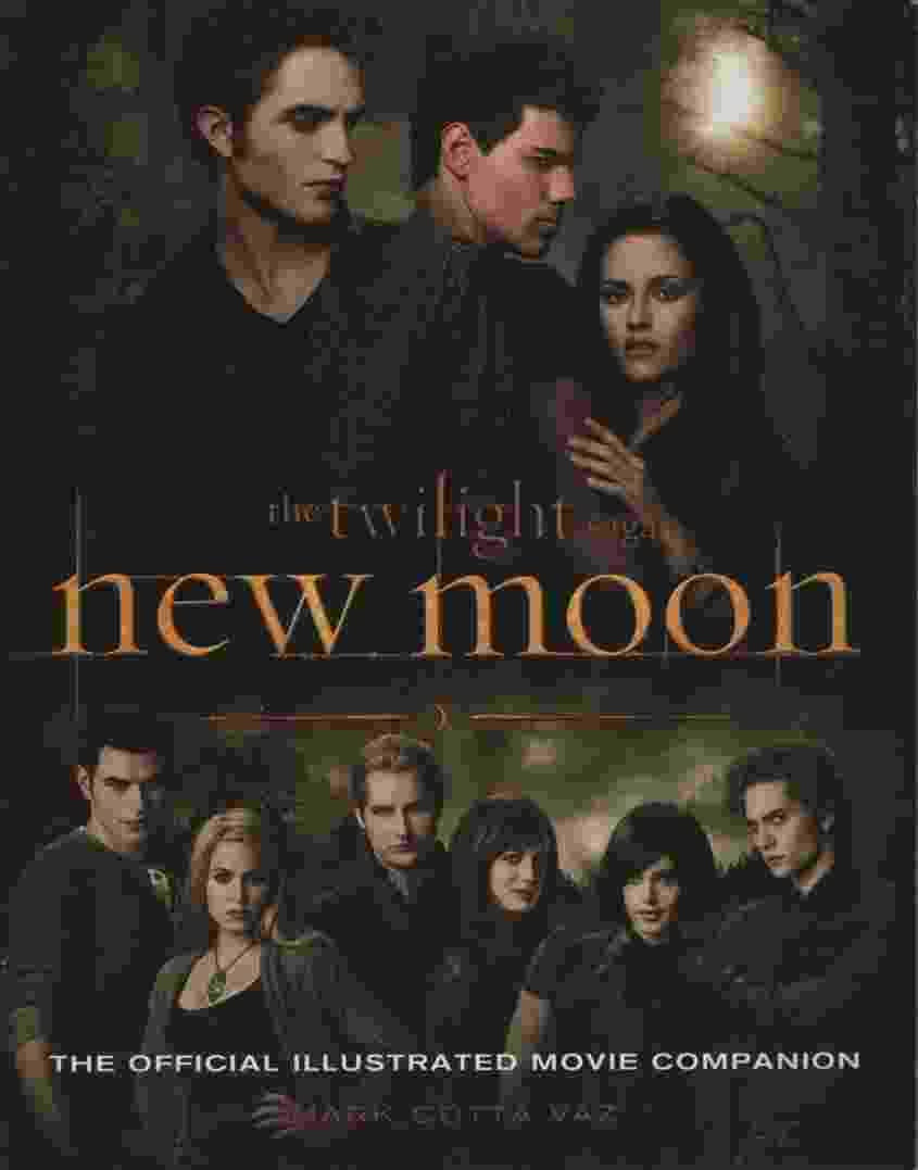 Image for THE TWILIGHT SAGA NEW MOON OFFICIAL ILLUSTRATED MOVIE COMPANION