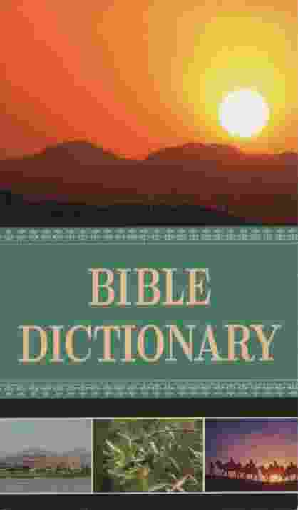 Image for BIBLE DICTIONARY