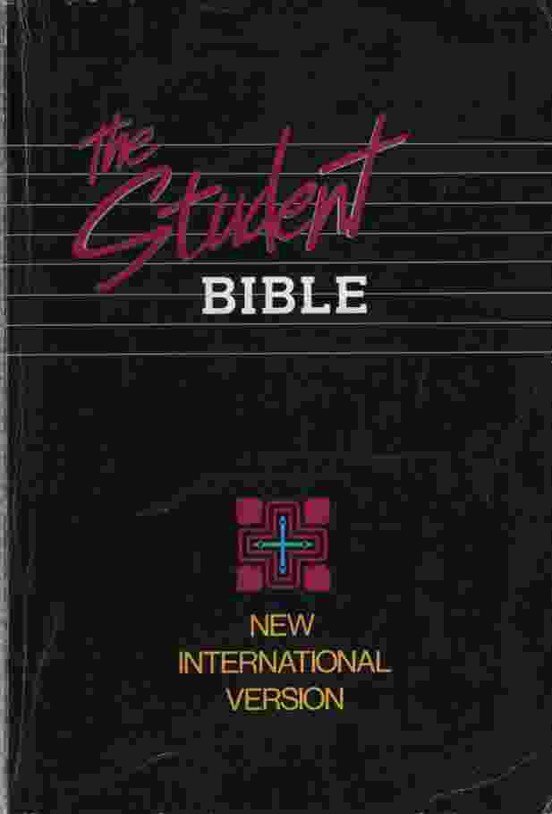 Image for THE STUDENT BIBLE, NEW INTERNATIONAL VERSION Notes by Philip Yancey and Tim Stafford