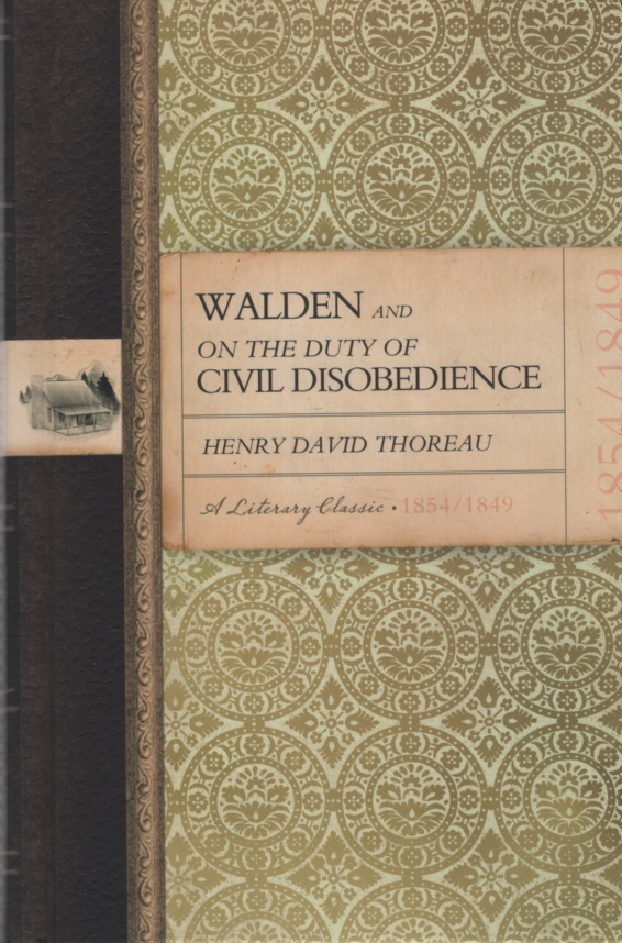 Image for WALDEN AND ON THE DUTY OF CIVIL DISOBEDIENCE