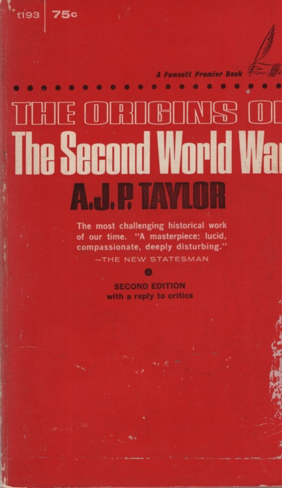 Image for THE ORIGINS OF THE SECOND WORLD WAR, 2ND EDITION