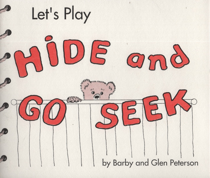 Image for LET'S PLAY HIDE AND GO SEEK