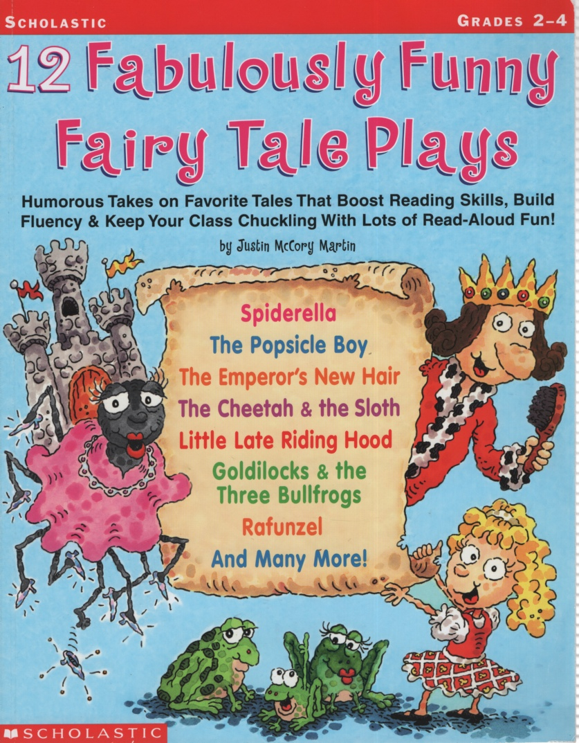 Image for 12 FABULOUSLY FUNNY FAIRY TALE PLAYS