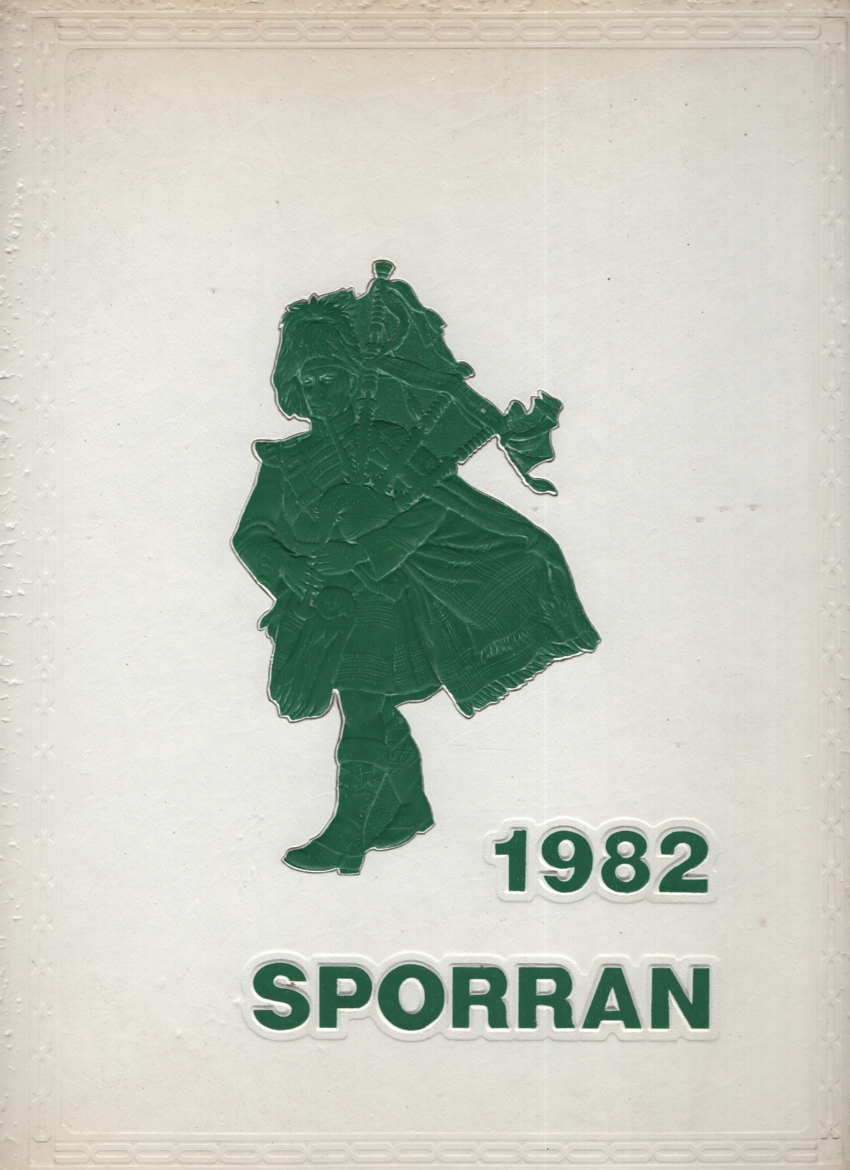 Image for SPORRAN 1982, MCDUFFIE HIGH SCHOOL, ANDERSON, SC