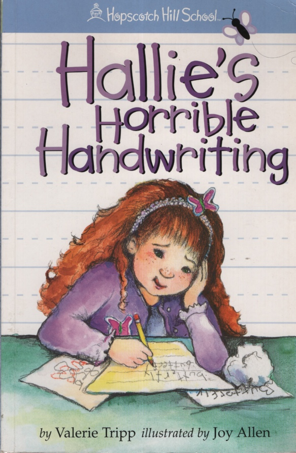 Image for HALLIE'S HORRIBLE HANDWRITING